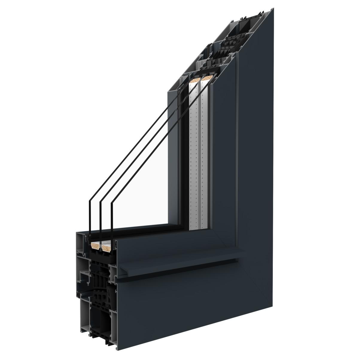 Aluminiumfenster- unt -türen MB 86si kaufen