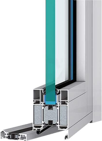 Aluminiumfenster und -Türen MB 70Hi in vielen RAL  -  kaufen