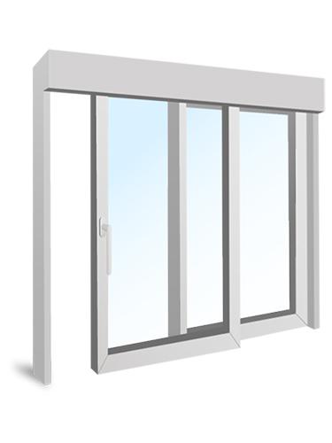 Schiebefenster Aluminium konfigurieren