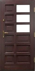 Haustür aus Holz 3