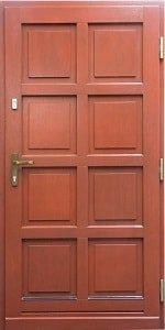 Haustür aus Holz 4