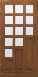 Haustür aus Holz 5
