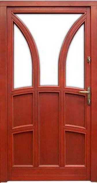 Haustür aus Holz 6