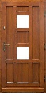 Haustür aus Holz 8