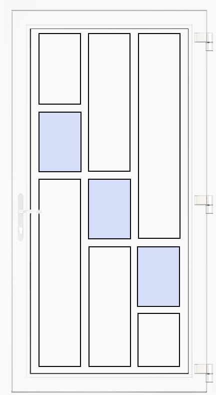Nebeneingangstür Modell 11