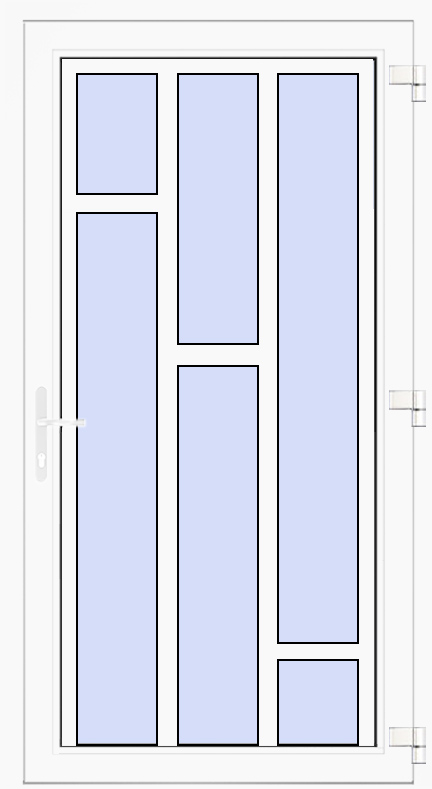 Nebeneingangstür Modell 14