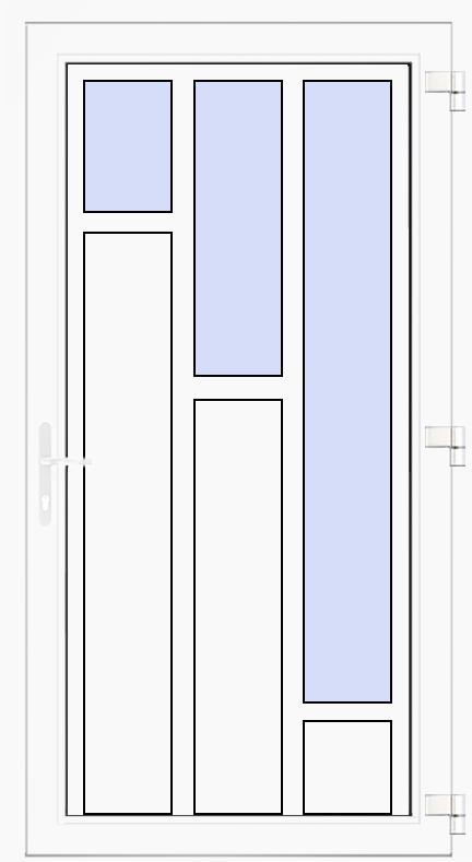 Nebeneingangstür Modell 8